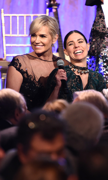 "Yolanda Hadid and Ally Hilfiger were all smiles during the Global Lyme Alliance's third annual New York City gala. Yolanda, who has suffered with the illness, opened up to HELLO! about finally feeling like herself. ""I feel amazing. I feel really great,"" she shared. ""I haven't felt this good in six years. so it's actually the first time I'm at this event feeling somewhat normal and not wanting to you know run home the minute I got here so it's good. I'm here I want to have a good time and happy to here.""