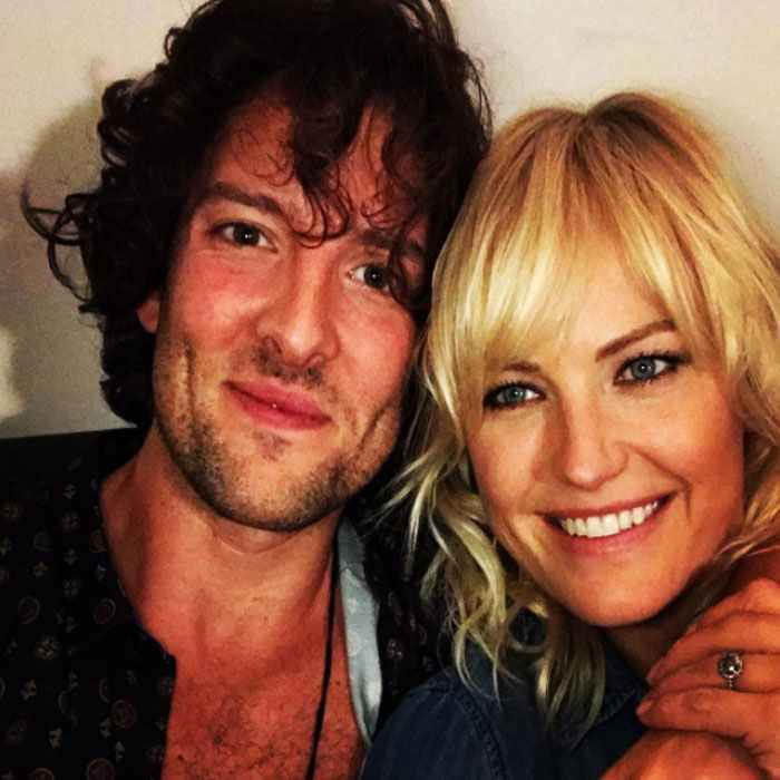<b>Malin Akerman and Jack Donnelly</b>