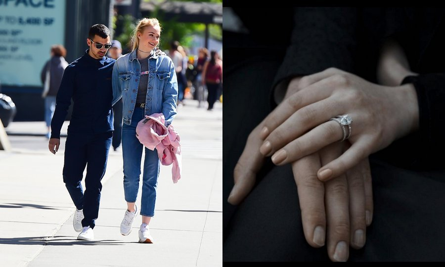 <b>Joe Jonas and Sophie Turner</B>
