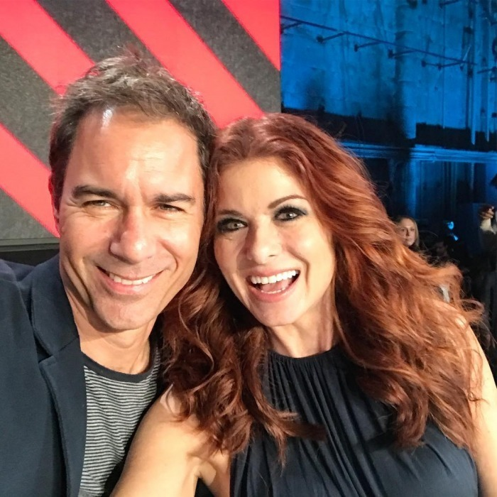 "Will and Grace or Eric McCormack and Debra Messing? TV's well-known duo were thrilled to participate in the Saturday night show. Debra took to Instagram to thank J.Lo and also share some thoughts: ""I found my Will to go on!  We manned the phones together and got to thank a load of people who had donated money. So amazed and inspired by what people can do if everyone comes together. #SomosUnaVoz""