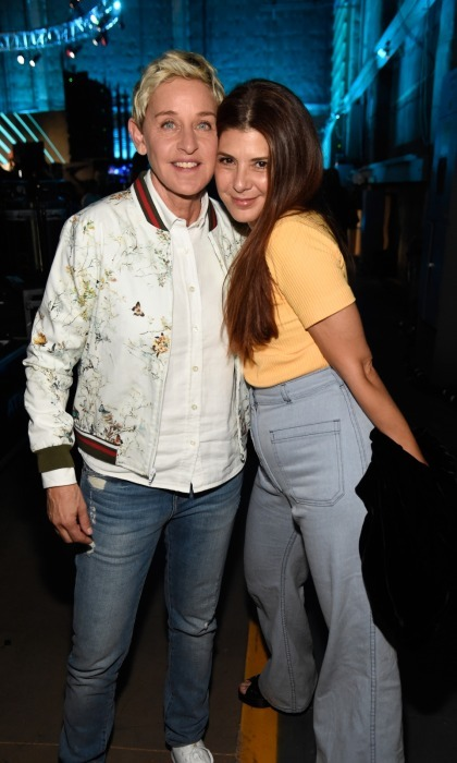 Ellen DeGeneres and Marisa Tomei were also at the taping to bring in big donations.