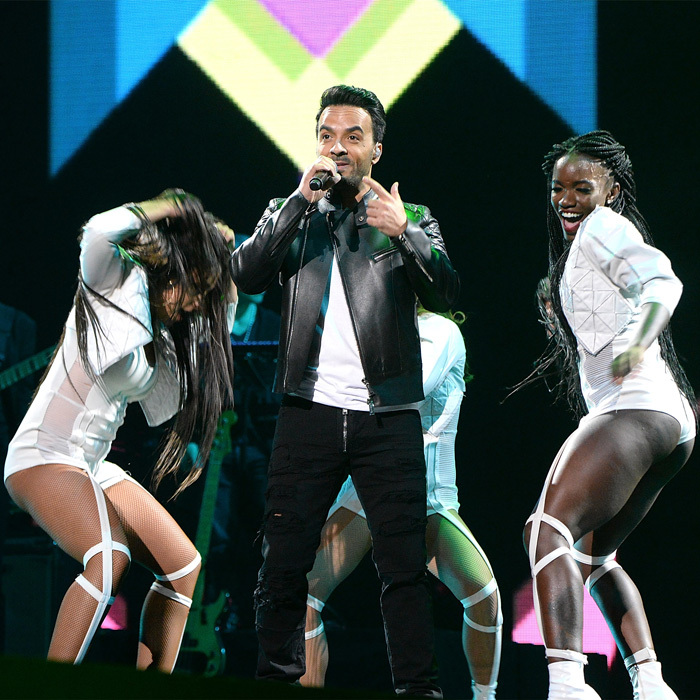 "Luis Fonsi kicked off the Tidal x Brooklyn benefit concert, which was presented by Bacardi Rum, at Brooklyn's Barclays Center on October 17. ""I'm honored to be a part of this beautiful line-up. It's a special event,"" he told HELLO!'s sister publication HOLA! USA ahead of his performance. ""There is so much work to be done for my island Puerto Rico, for my brothers and sisters in Mexico, for everybody who has been affected and to be able to do it through music is obviously something that is very powerful. So events like this need to happen very often. Again [I'm] very happy to be invited.""