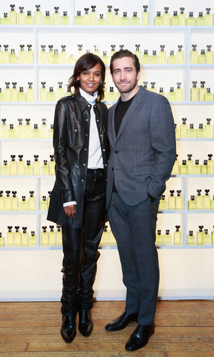 Jake Gyllenhaal was joined by supermodel Liya Kebede at the campaign celebration dinner for ETERNITY Calvin Klein, the brand's latest fragrance in NYC. The two, who are the faces of the new scent, were joined by Maggie Gyllenhaal and Will Kopelman at the event.