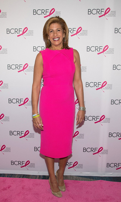 "Hoda Kotb hosted the Breast Cancer Research Foundation (BCRF) annual Symposium and Awards Luncheon on October 19 in NYC. As she kicked off the moving event, she spoke candidly about her own breast cancer journey. She then admitted that it led to one of the best decisions she ever made ""divorce"" to then her journey of becoming a mother to ""the light of my life,"" Hayley Joy. 
