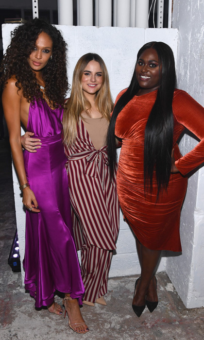 "Joan Smalls, JoJo and Danielle Brooks hung out backstage prior to Pitbull's performance at the Daniel E Straus & CareOne Starry Night Masquerade that raised money for Puerto Rico. Joan, who is from from the island, opened up to HELLO! about her visit back home to make sure her family was ok after Hurricane Maria. ""They are safe, sound,"" she shared. ""I think the most important thing is they are just dealing with their circumstances everyday.""
