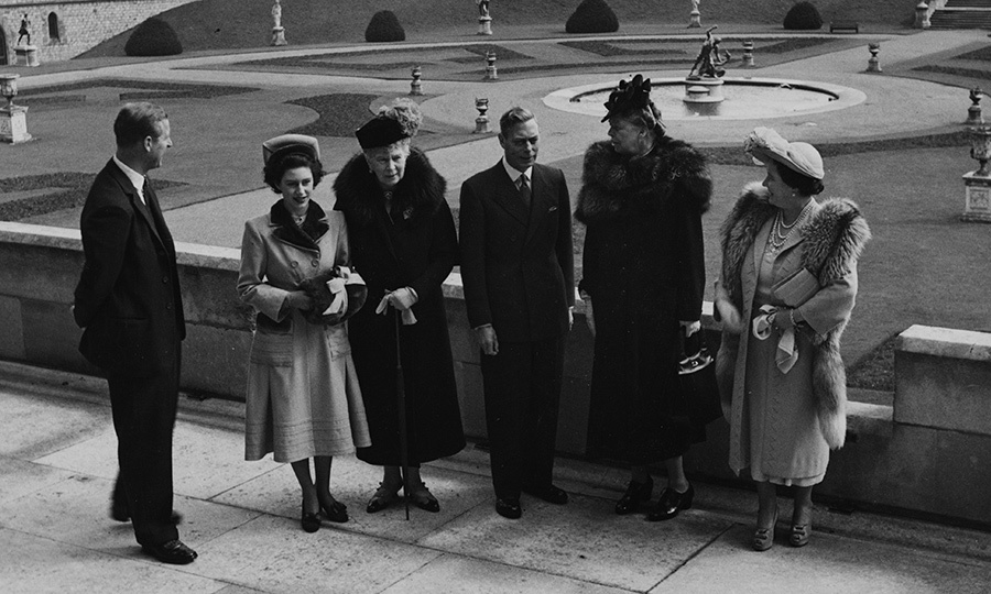 <B>ELEANOR ROOSEVELT AND THE BRITISH ROYAL FAMILY</B>