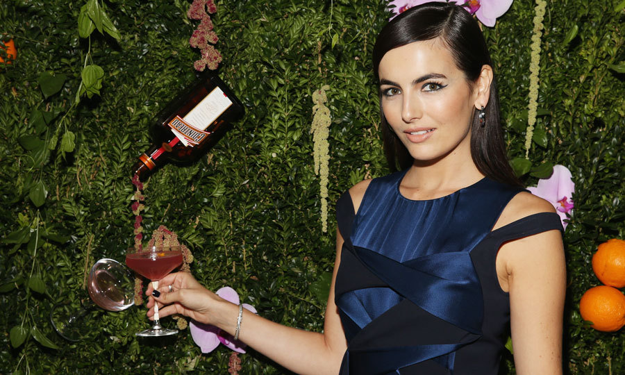 Camilla Belle — dressed in Adeam — and Cointreau took guests back to 1988 NYC glam, at a celebration in honor of Cosmopolitan and The Art of La Soirée event on November 2 in Manhattan.