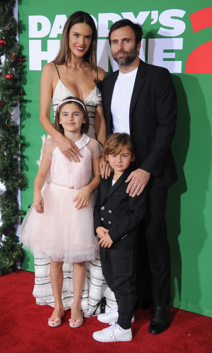 While Alessandra Ambrosio is the star of the movie <i>Daddy's Home 2</i>, it was her and Jamie Mazur's children who had the spotlight on them at the L.A. premiere. Their daughter Anja, 9, is possibly destined for center stage and even performed a song during Coachella with Devendra Banhart. The couple's five-year-old son Noah is also  proving to have his parents' good looks and charm. 