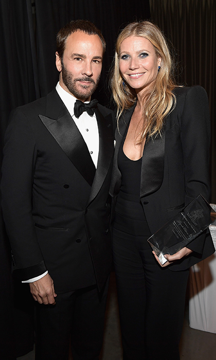 During the event, which was designed by Oren Co, director and designer Tom Ford awarded Gwyneth Paltrow with the 'The Giving Tree Award' for her commitment to low-income children. Gwyneth was wearing a suit by, who else? Tom Ford.  