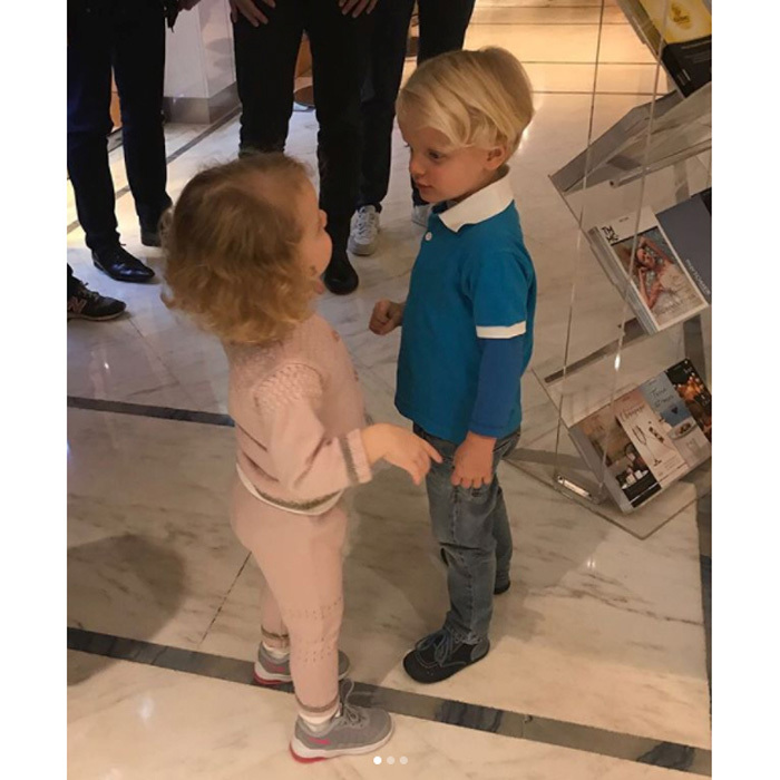 Princess Charlene and Prince Albert of Monaco's twins, Prince Jacques and Princess Gabriella, have reached an exciting new milestone together. The adorable two-year-old's recently had their first haircut! Charlene took to her personal Instagram account on Monday, November 13, to share photos she snapped of her young children and their shorter hairdos.