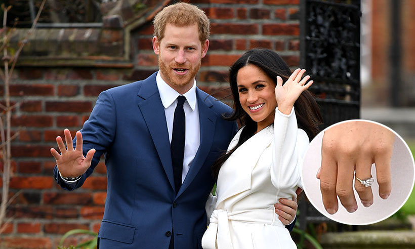 Meghan Markle S Engagement Ring Prince Harry Pays A