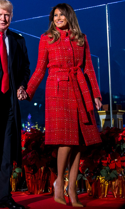 Melania Trump style: See what (and who) the first lady has ...