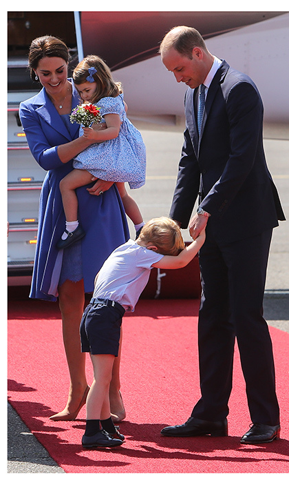 William And Kate Photos With Children George And Charlotte