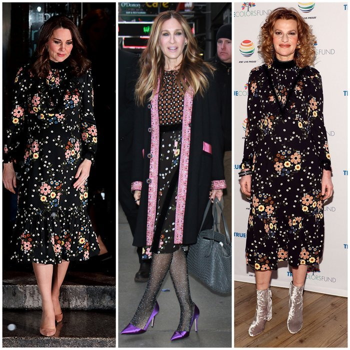 87 Best Beauty Fashion Around The World Images On: Royals And Celebrities Dressed Alike: The Best Twinning