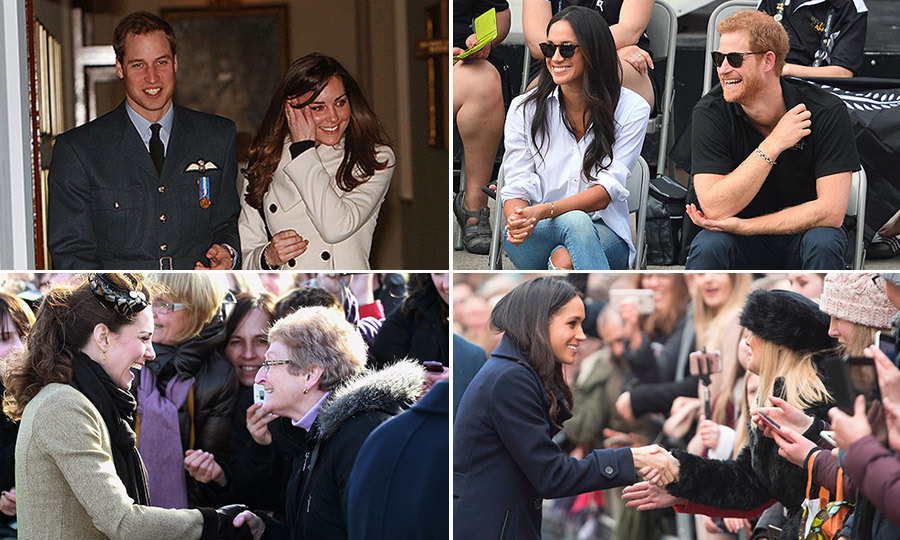 Prince Harry and Meghan Markle check in on Youth Forum at CHOGM