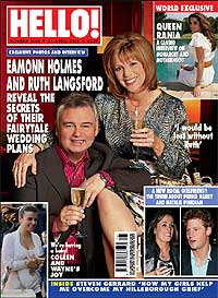 Eamonn Holmes, wedding, plans, exclusive, propose, propasal, Ruth Langsford, married, engaged,HELLO
