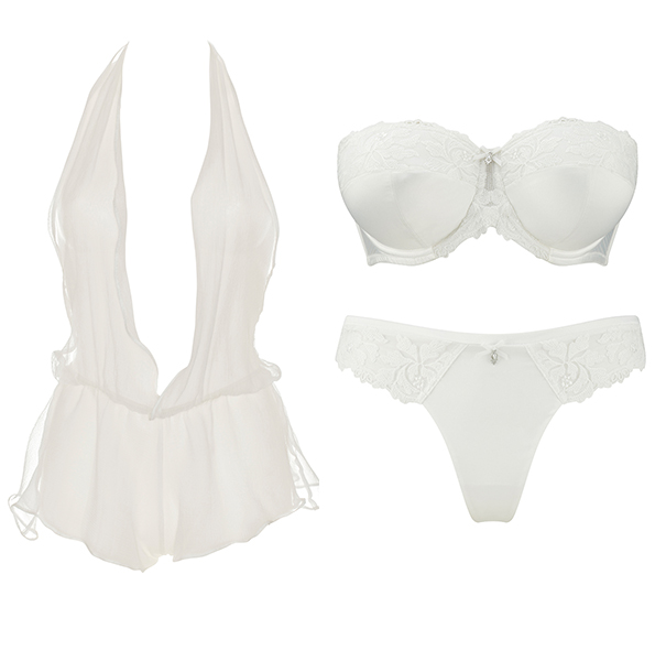 Bridal lingerie and nightwear