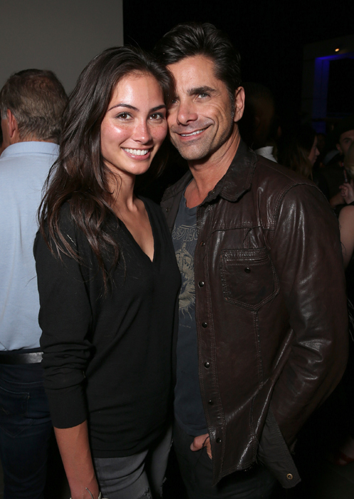 john-stamos-and-caitlin-mchugh-at-comicon-party