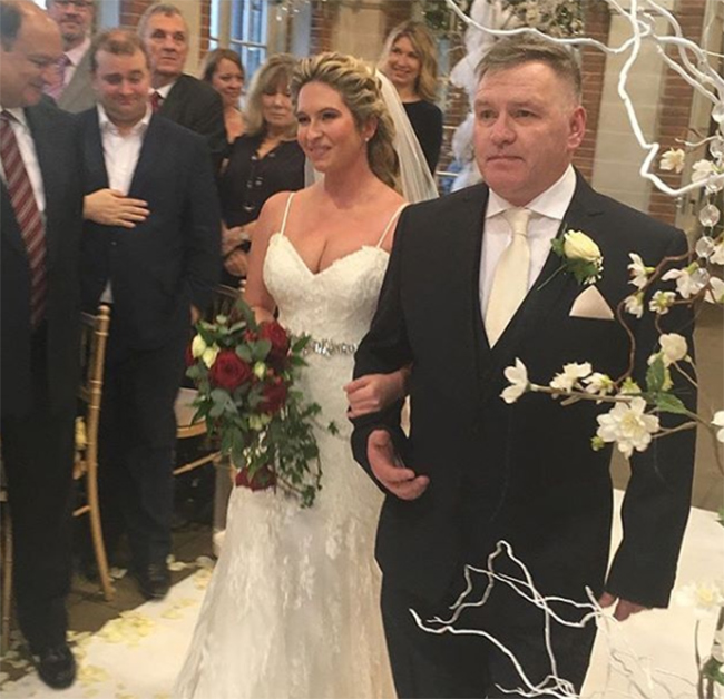 brooke-kinsella-walking-down-aisle-at-wedding