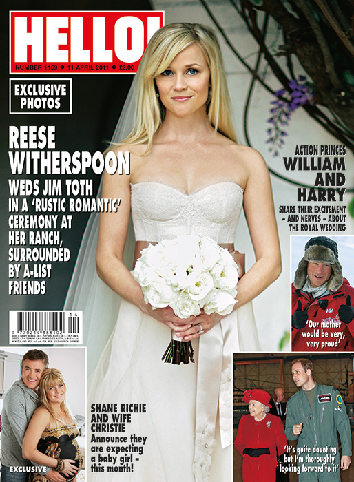 reese witherspoon wedding jim toth 2011 hello magazine cover