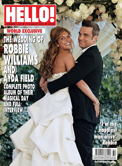 Robbie Williams wedding