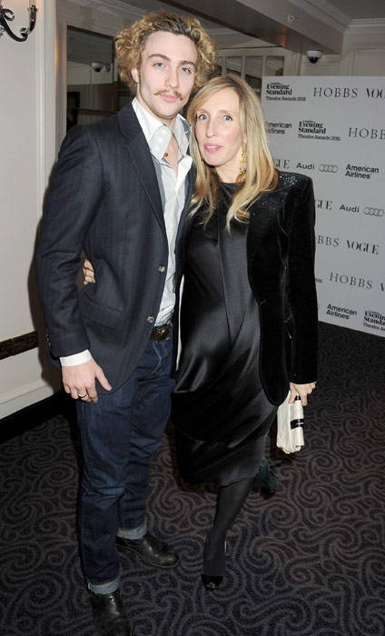 Aaron Taylor-Johnson with intelligent, Wife Sam Taylor-Johnson