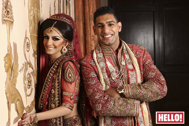 Amir Khan wedding