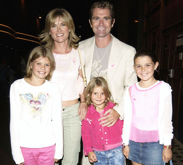 Anthea Turner and family