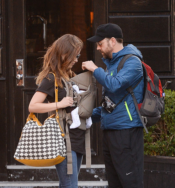 Olivia Wilde and baby
