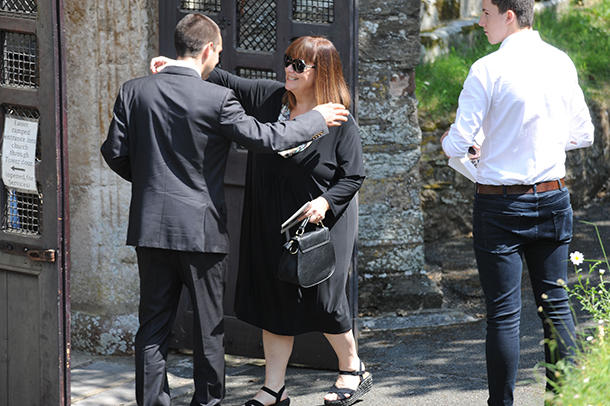 dawn french funeral