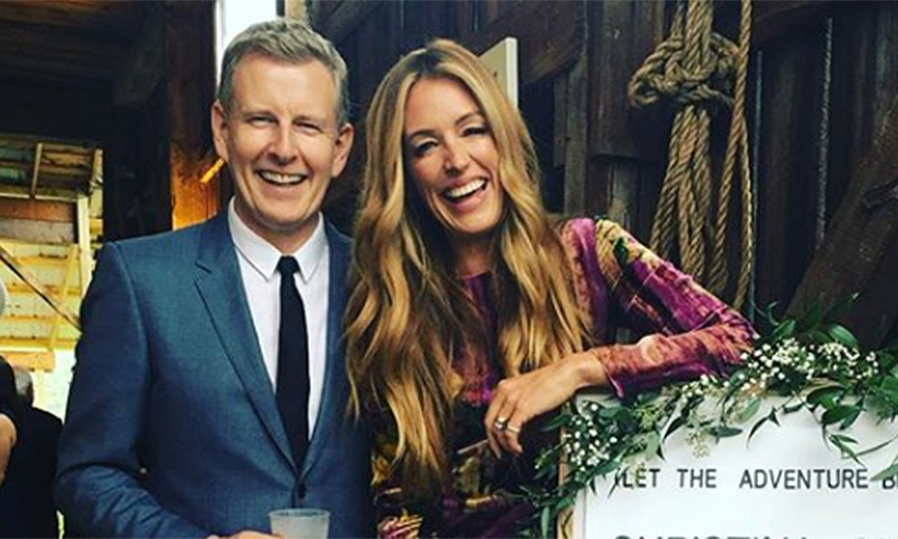 Cat Deeley And Patrick Kielty Kiss In Epic Wedding Photo