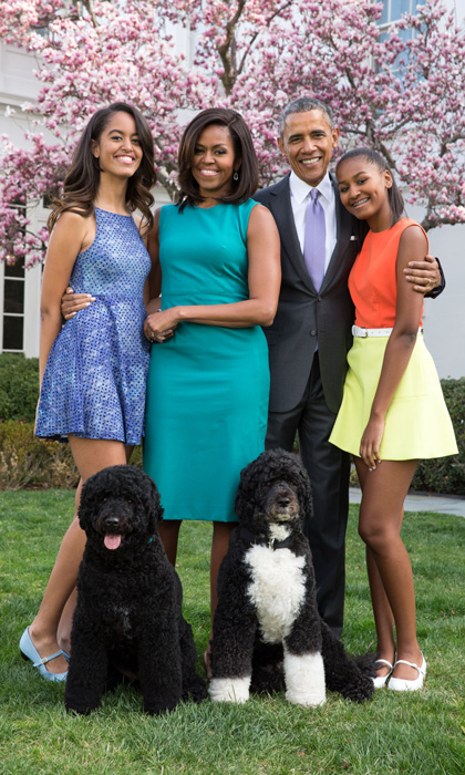 michelle-barack-sasha-malia-obama-white-house