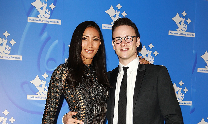 Kevin and Karen Clifton on red carpet