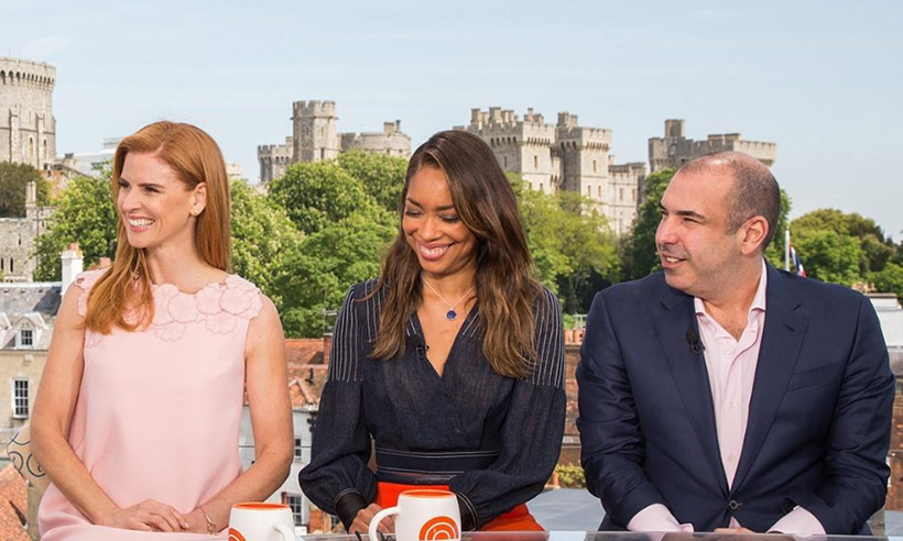 Meghan Markle's former Suits co-stars discuss her ...