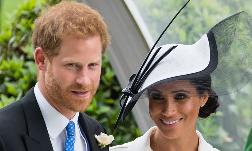 prince harry meghan markle ascot