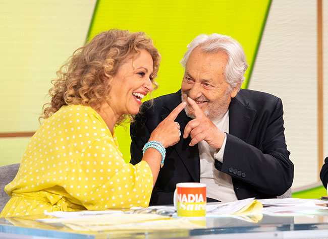 nadia-sawalha-dad-loose-women