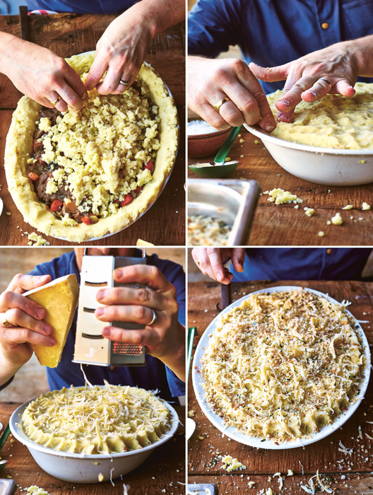 Jamie olivers comfort food cookbook all time favourites and guilty how to make jamies shepherds pie step two forumfinder Choice Image