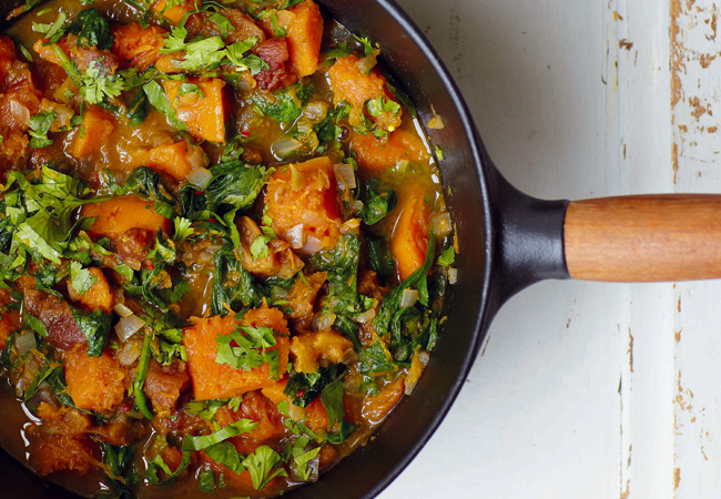 Squash-and-Spinach-Tagine-