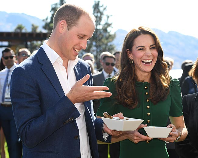 prince william kate middleton canada food festival