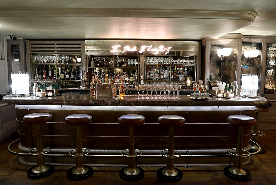 34 Mayfair restaurant bar