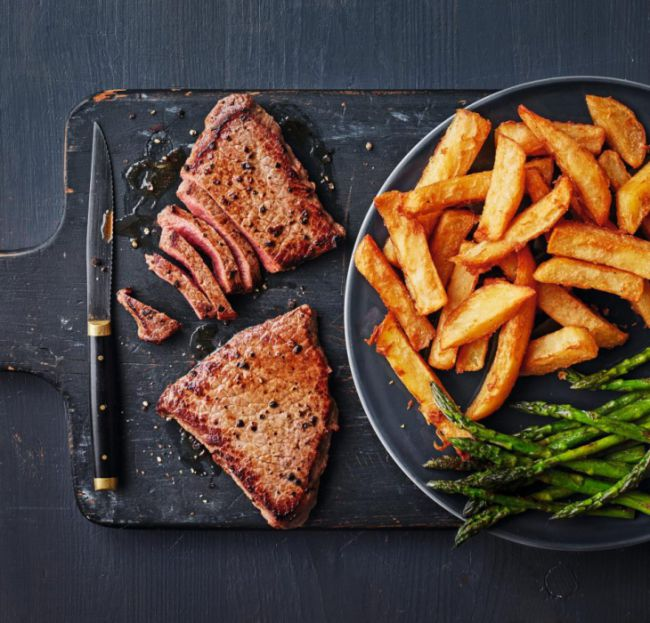 co-op steak and chips valentines day meal deal