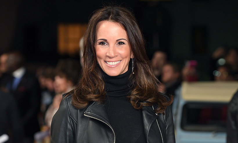 loose women 39 s andrea mclean posts rare video with daughter amy. Black Bedroom Furniture Sets. Home Design Ideas