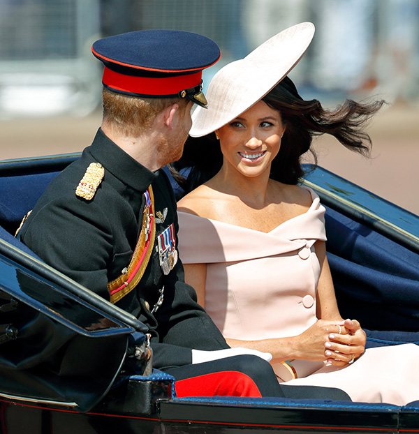 Did Meghan's Trooping The Colour Dress Heavily Inspire