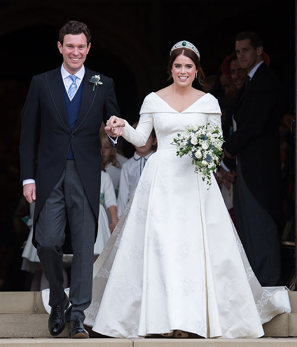 What Eugenie And Diana's Wedding Dresses Have In Common
