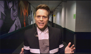 Olly Murs gives first glimpse at his new X Factor role