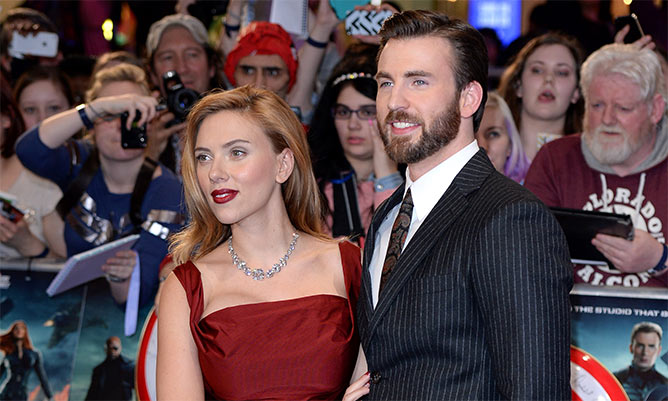 Chris Evans pranks good friend Scarlett Johansson on The Ellen Show