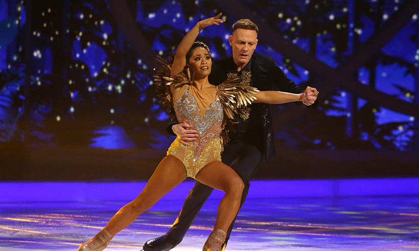 antony cotton brandee malto dancing on ice