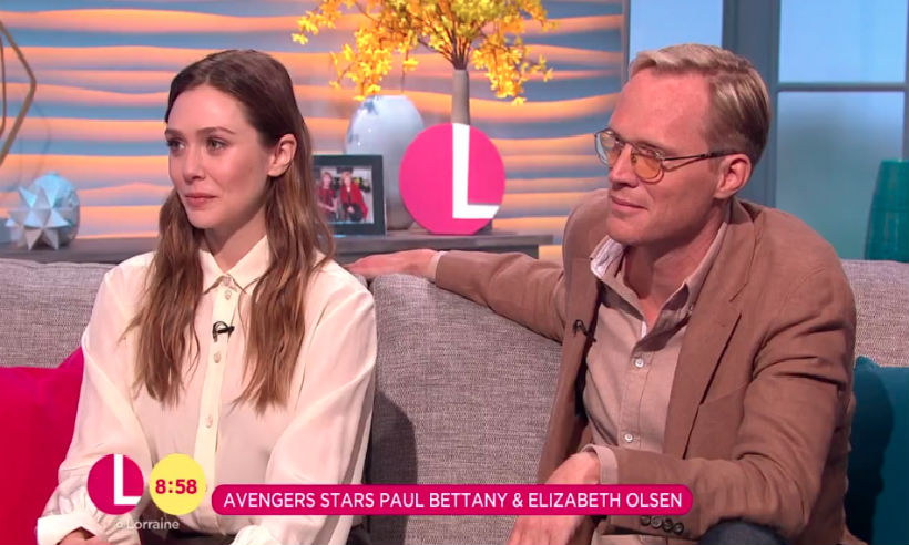 Paul Bettany and Elizabeth Olsen on The Crown