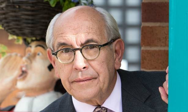 Malcolm Hebden on Corrie set
