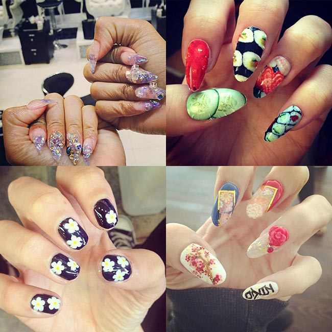 Nail Art Salons New York City Papillon Day Spa